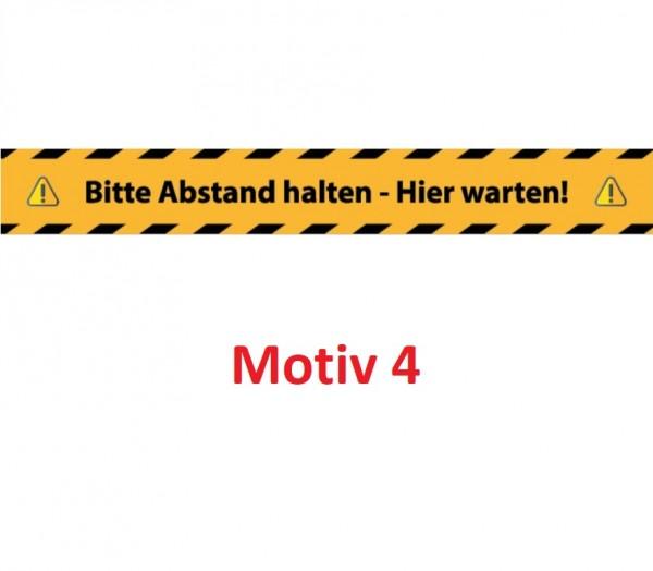 Streifen Bodenaufkleber (innen) 5 Motive, BxH 100 x 10 cm VE=5
