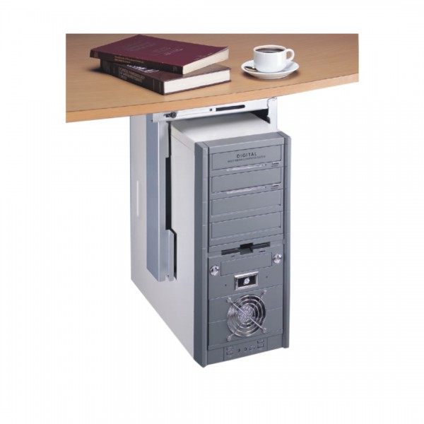 Dataflex CPU Halter Top Grip 32.312 starr silber