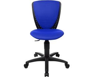 Topstar Bürodrehstuhl High S'cool blau ohne Armlehne 48630 BB60